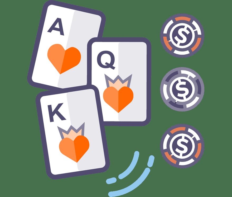 Los 53 mejores sitios de Casino de Póker de tres cartas en línea en Ecuador